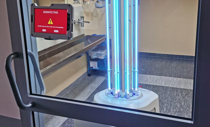 UVD Robot do niszczenia COVID-19